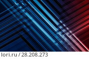 Купить «Abstract 3d background. Geometric pattern», иллюстрация № 28208273 (c) EugeneSergeev / Фотобанк Лори