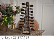 Купить «Lute of the 16th century», фото № 28217189, снято 21 февраля 2018 г. (c) Дмитрий Черевко / Фотобанк Лори