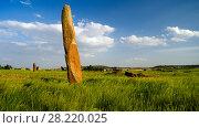 Ancient Megalith stela field, Axum, Tigray, Ethiopia (2012 год). Редакционное фото, фотограф Сергей Майоров / Фотобанк Лори