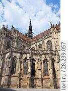 Gothic St Elisabeth Cathedral in Kosice, Slovakia (2016 год). Стоковое фото, фотограф Anton Eine / Фотобанк Лори