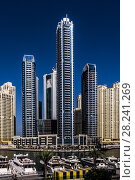Купить «5 Star The Address Dubai Marina Hotels in Dubai City, United Arab Emirates.», фото № 28241269, снято 17 февраля 2018 г. (c) age Fotostock / Фотобанк Лори