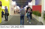 Купить «Pavilion Griffin at IFA, Messe, Berlin, Germany», видеоролик № 28242805, снято 25 мая 2017 г. (c) BestPhotoStudio / Фотобанк Лори
