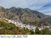 Купить «Medina blue city Chefchaouen, Morocco», фото № 28260709, снято 18 февраля 2018 г. (c) Михаил Коханчиков / Фотобанк Лори