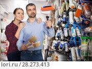 Купить «pair choosing roller for repair», фото № 28273413, снято 16 февраля 2018 г. (c) Яков Филимонов / Фотобанк Лори