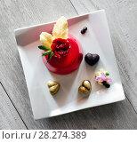 Купить «Dessert», фото № 28274389, снято 7 апреля 2018 г. (c) Alexander Tihonovs / Фотобанк Лори