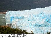 Купить «Glacier Perito Moreno and mountains», фото № 28277201, снято 2 февраля 2017 г. (c) Яков Филимонов / Фотобанк Лори