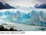 Купить «Glacier Perito Moreno, southeast of Argentina», фото № 28277209, снято 2 февраля 2017 г. (c) Яков Филимонов / Фотобанк Лори