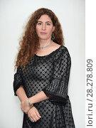 Купить «Annemarie Jacir during 'Wajib' film photocall, Rome, Italy 09 apr 2018.», фото № 28278809, снято 9 апреля 2018 г. (c) age Fotostock / Фотобанк Лори