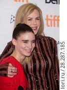 Купить «Actors attends a premiere for 'Lion' for the annual Toronto Film Festival (TIFF), in Toronto, Canada. Featuring: Rooney Mara, Nicole Kidman Where: Toronto...», фото № 28287185, снято 10 сентября 2016 г. (c) age Fotostock / Фотобанк Лори