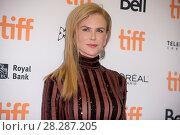 Купить «Actors attends a premiere for 'Lion' for the annual Toronto Film Festival (TIFF), in Toronto, Canada. Featuring: Nicole Kidman Where: Toronto, Canada When: 10 Sep 2016 Credit: Euan Cherry/WENN.com», фото № 28287205, снято 10 сентября 2016 г. (c) age Fotostock / Фотобанк Лори