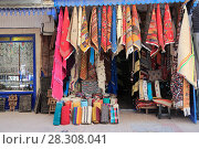 Купить «Carpets and textiles in the Souk, Medina, UNESCO World Heritage Site, Essaouira, Morocco, North Africa, Africa», фото № 28308041, снято 26 марта 2017 г. (c) age Fotostock / Фотобанк Лори