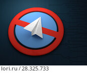 Купить «Concept of blocking an application for messaging telegrams. Blocking telegram.», фото № 28325733, снято 17 октября 2018 г. (c) Александр Якимов / Фотобанк Лори