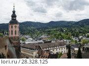 Вид на город Баден-Баден. Германия. Стоковое фото, фотограф Яковлев Сергей / Фотобанк Лори