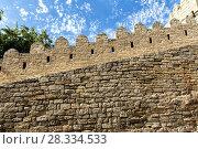 Купить «Fortress of the Old Sity Baku. Historical core of Azerbaijan Baku», фото № 28334533, снято 23 сентября 2015 г. (c) Евгений Ткачёв / Фотобанк Лори