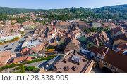 Купить «Image of view from Clock tower in Sighisoara», фото № 28338905, снято 16 сентября 2017 г. (c) Яков Филимонов / Фотобанк Лори