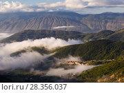 Купить «Apennine village of Rosciolo dei Marsi in western Abruzzo. Central Apennines, Italy, October 2012.», фото № 28356037, снято 29 мая 2020 г. (c) Nature Picture Library / Фотобанк Лори