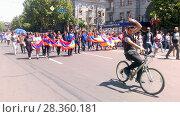 Купить «Улицы Еревана в мае 2018», фото № 28360181, снято 2 мая 2018 г. (c) Агата Терентьева / Фотобанк Лори