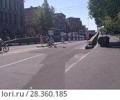 Купить «Улицы Еревана в мае 2018», фото № 28360185, снято 2 мая 2018 г. (c) Агата Терентьева / Фотобанк Лори