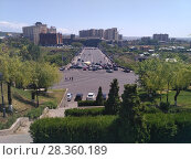 Купить «Улицы Еревана в мае 2018», фото № 28360189, снято 2 мая 2018 г. (c) Агата Терентьева / Фотобанк Лори