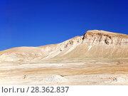 Купить «Иудейская пустыня на Западном берегу реки Иордан в Палестинской автономии», фото № 28362837, снято 15 мая 2014 г. (c) Александр Гаценко / Фотобанк Лори