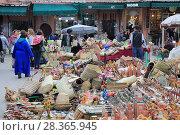 Купить «Souk, Market, Medina, UNESCO World Heritage Site, Marrakesh (Marrakech), Morocco, North Africa, Africa», фото № 28365945, снято 23 марта 2017 г. (c) age Fotostock / Фотобанк Лори