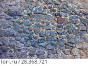 Wall - a laying from stones. Стоковое фото, фотограф Николай Лемешев / Фотобанк Лори