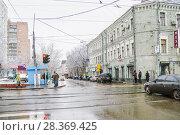 Купить «Аптекарский переулок в Москве», эксклюзивное фото № 28369425, снято 17 ноября 2009 г. (c) Алёшина Оксана / Фотобанк Лори