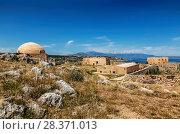Купить «The Venetian castle Fortezza in Rethymno, Crete, Greece», фото № 28371013, снято 3 июня 2017 г. (c) Наталья Волкова / Фотобанк Лори