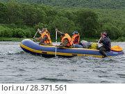 Купить «Летний сплав по реке», фото № 28371561, снято 15 июля 2016 г. (c) А. А. Пирагис / Фотобанк Лори