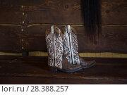 Купить «Ковбойские сапоги», фото № 28388257, снято 15 апреля 2018 г. (c) Марина Володько / Фотобанк Лори