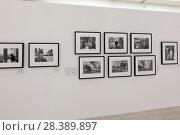 Купить «Москва, фотовыставка в зале  выставочного центра Манеж, Фотобиеннале 2018 года», эксклюзивное фото № 28389897, снято 2 мая 2018 г. (c) Дмитрий Неумоин / Фотобанк Лори
