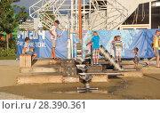 "Купить «Attraction for children. The amusement Park ""Sochi Park"".», фото № 28390361, снято 9 августа 2014 г. (c) Олег Хархан / Фотобанк Лори"