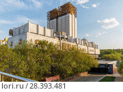 The building of the Presidium of the Russian Academy of Sciences (2018 год). Редакционное фото, фотограф Юрий Шурчков / Фотобанк Лори