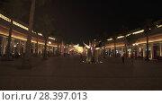 Купить «Riverland at Dubai Parks and Resorts stock footage video», видеоролик № 28397013, снято 1 апреля 2018 г. (c) Юлия Машкова / Фотобанк Лори