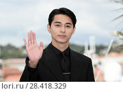 Купить «Masahiro Higashide during the photocall of the film Netemo Sametemo (Asako I & II). 71st Cannes Film Festival. Cannes, France 15-05-2018.», фото № 28418329, снято 15 мая 2018 г. (c) age Fotostock / Фотобанк Лори