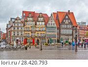 Купить «Исторический центр Бремена. Германия», фото № 28420793, снято 1 мая 2018 г. (c) Сергей Афанасьев / Фотобанк Лори
