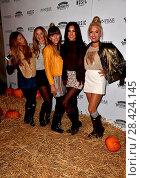 Купить «Chloe Paige (far right) attending the VIP and press night of Shocktober Fest, at Tulleys Farm, Turners Hill, Crawley, West Sussex. Featuring: Chloe Paige...», фото № 28424145, снято 7 октября 2016 г. (c) age Fotostock / Фотобанк Лори