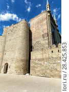 Купить «Девичья башня в старом городе Баку. Азербайджан», фото № 28425853, снято 23 сентября 2015 г. (c) Евгений Ткачёв / Фотобанк Лори