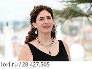 Купить «Annemarie Jacir during 'Jury Un Certain Regard' photocall at 71th Cannes Film Festival, Cannes, France 09/05/2018.», фото № 28427505, снято 9 мая 2018 г. (c) age Fotostock / Фотобанк Лори