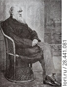 Купить «Чарльз Дарвин. Ученый», фото № 28441081, снято 20 мая 2018 г. (c) Victoria Demidova / Фотобанк Лори