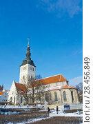 Купить «Nikoliste kirik, church of Saint Nicholas, now museum, Vanalinn, old town, Tallinn, Estonia.», фото № 28456849, снято 3 марта 2018 г. (c) age Fotostock / Фотобанк Лори