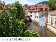 Купить «Прага. Вид города.», фото № 28462689, снято 2 мая 2018 г. (c) Воробьева Анна / Фотобанк Лори