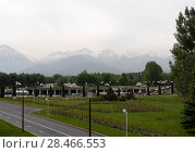 Купить «Парк первого президента республики Казахстан», фото № 28466553, снято 21 мая 2018 г. (c) Максим Гулячик / Фотобанк Лори