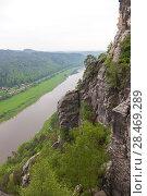 Купить «Национальный парк Саксонская Швейцария. Германия.», фото № 28469289, снято 3 мая 2018 г. (c) Воробьева Анна / Фотобанк Лори