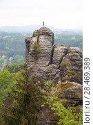 Купить «Национальный парк Саксонская Швейцария. Германия.», фото № 28469389, снято 3 мая 2018 г. (c) Воробьева Анна / Фотобанк Лори