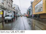 Купить «Улица Бауманская. Москва ( 2009 год )», эксклюзивное фото № 28471481, снято 17 ноября 2009 г. (c) Алёшина Оксана / Фотобанк Лори