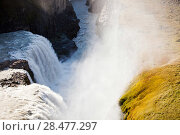 Купить «Godafoss waterfall, Akureyri, near northern Iceland», фото № 28477297, снято 20 августа 2018 г. (c) Nature Picture Library / Фотобанк Лори