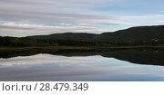 Купить «Scenic view of Cheticamp, Cabot Trail, Cape Breton Island, Nova Scotia, Canada», фото № 28479349, снято 11 июня 2016 г. (c) Ingram Publishing / Фотобанк Лори
