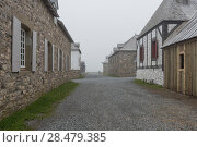 Купить «Houses by main street, Fortress of Louisbourg, Louisbourg, Cape Breton Island, Nova Scotia, Canada», фото № 28479385, снято 13 июня 2016 г. (c) Ingram Publishing / Фотобанк Лори