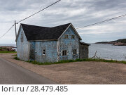 Купить «Abandoned house at waterfront, Cabot Trail, Cape Breton Island, Nova Scotia, Canada», фото № 28479485, снято 12 июня 2016 г. (c) Ingram Publishing / Фотобанк Лори